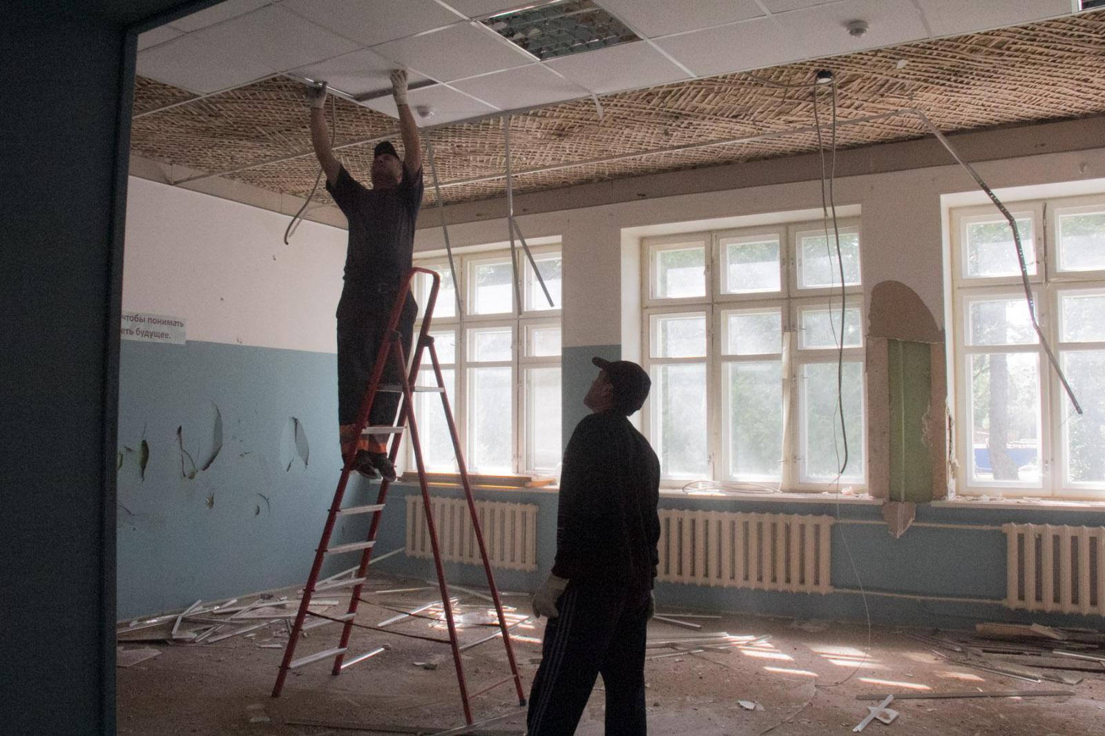 К капитальному ремонту готовят гимназию им. М. Т. Калашникова города Трубчевска