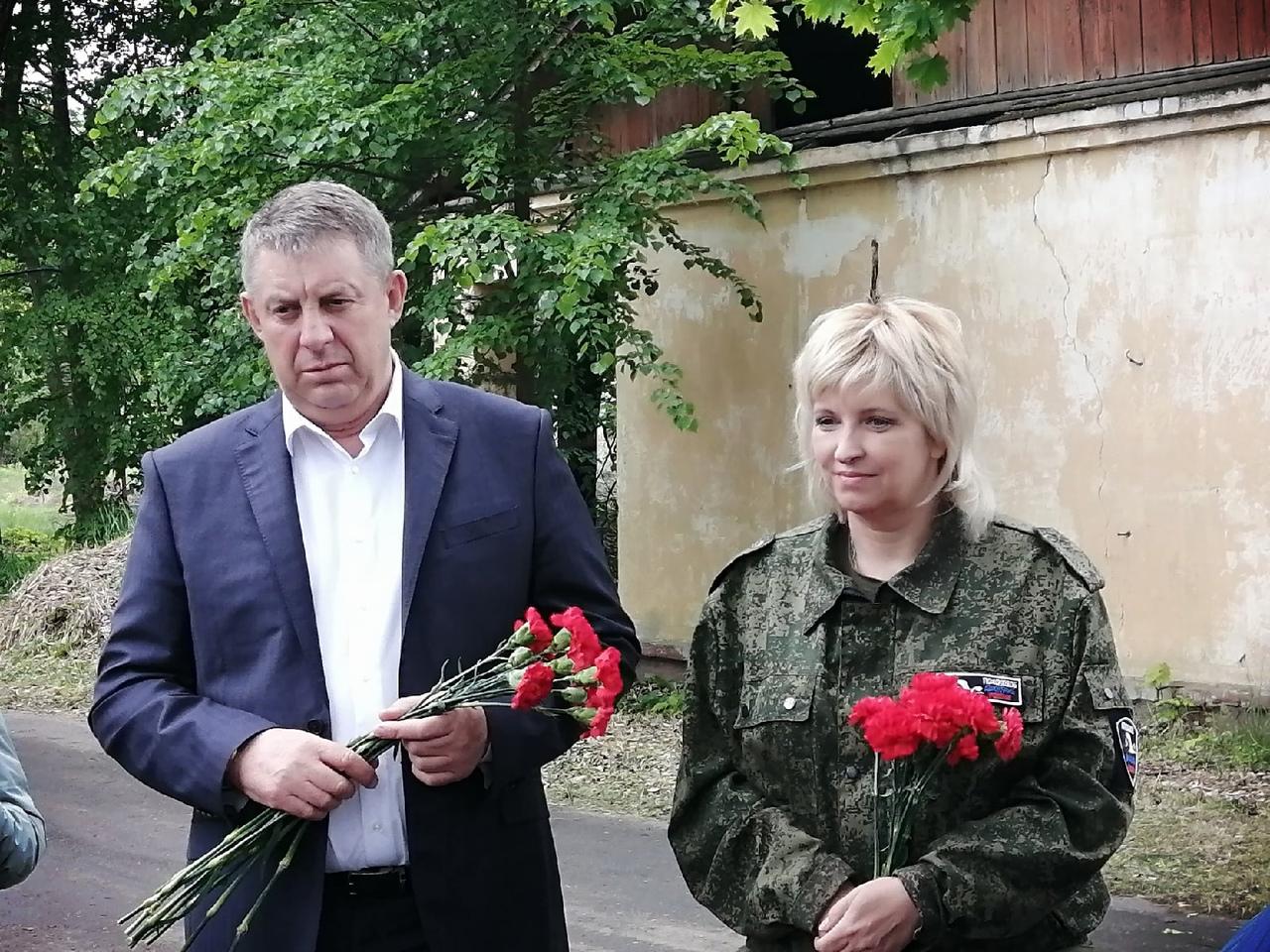 В Брянске почтили память замученных узников концлагеря «Дулаг-142»