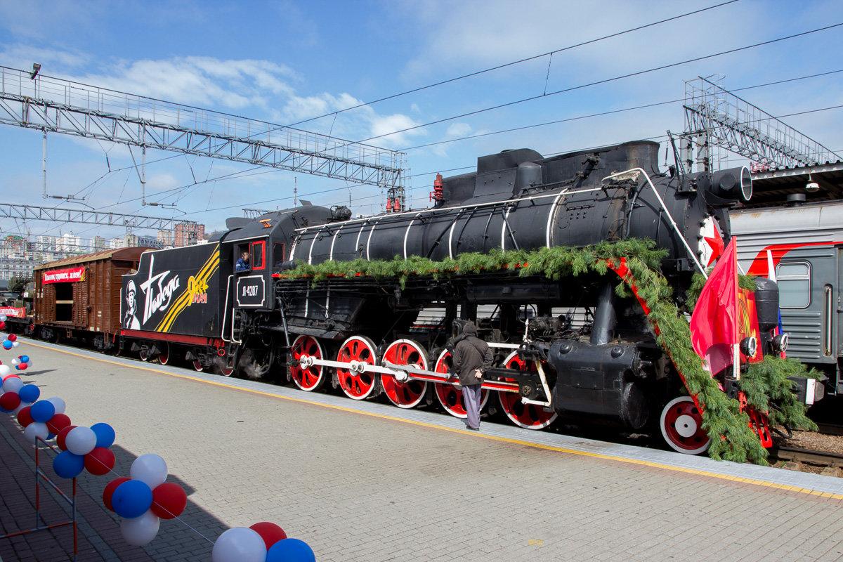В Брянск 7 и 8 июня приедет передвижной музей «Поезд Победы»