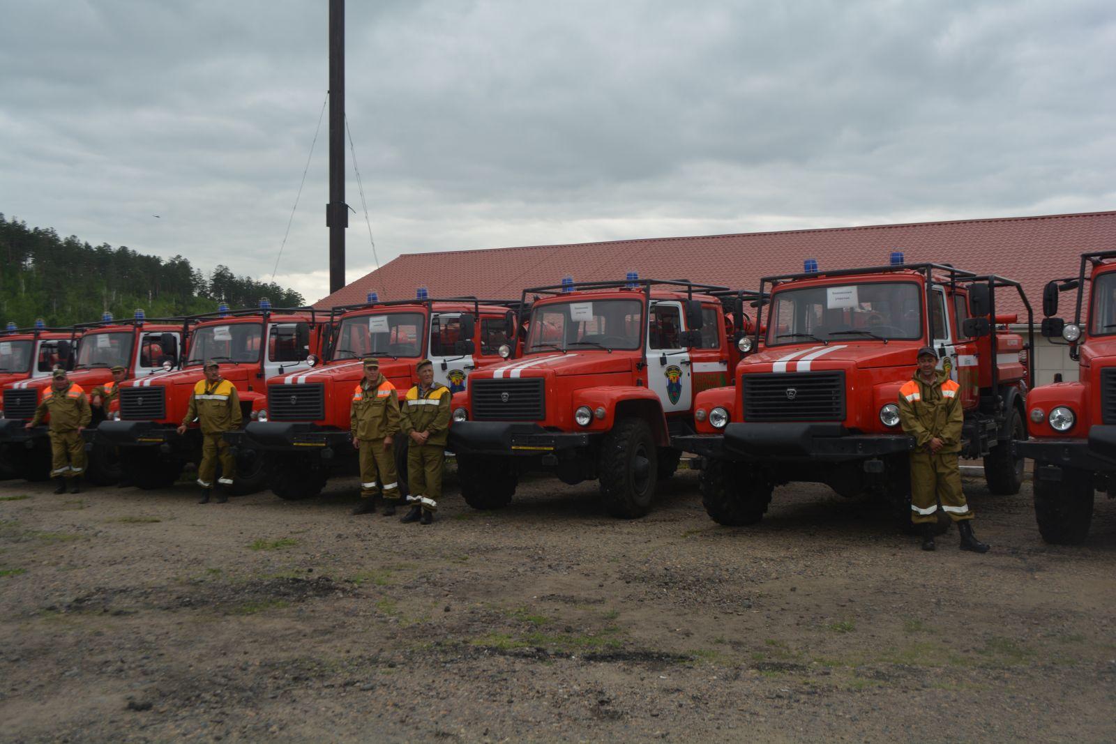 В Брянской области пополнился парк лесопожарной техники