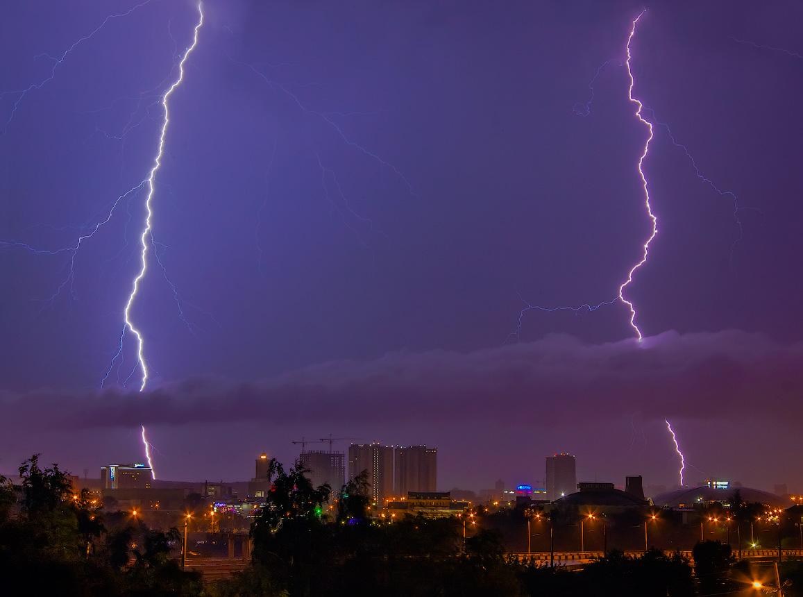 В Брянской области 9 июня ожидаются дожди и грозы