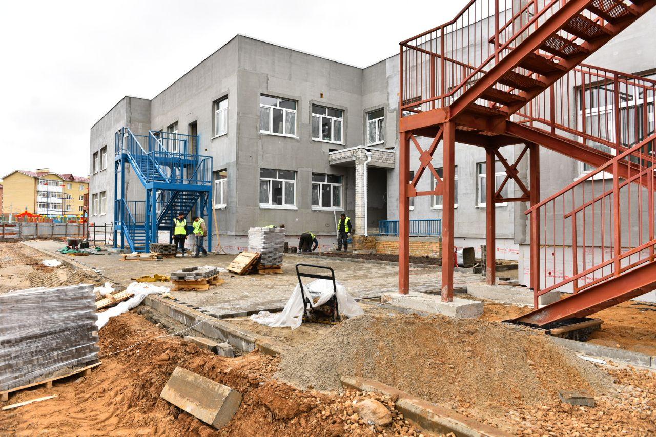На строительство детского сада в Почепе выделили 171 млн рублей