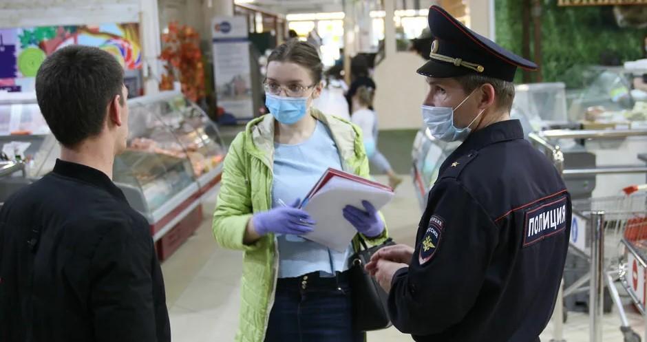 В Брянске из-за роста числа заражений коронавирусом усилят облавы на безмасочников
