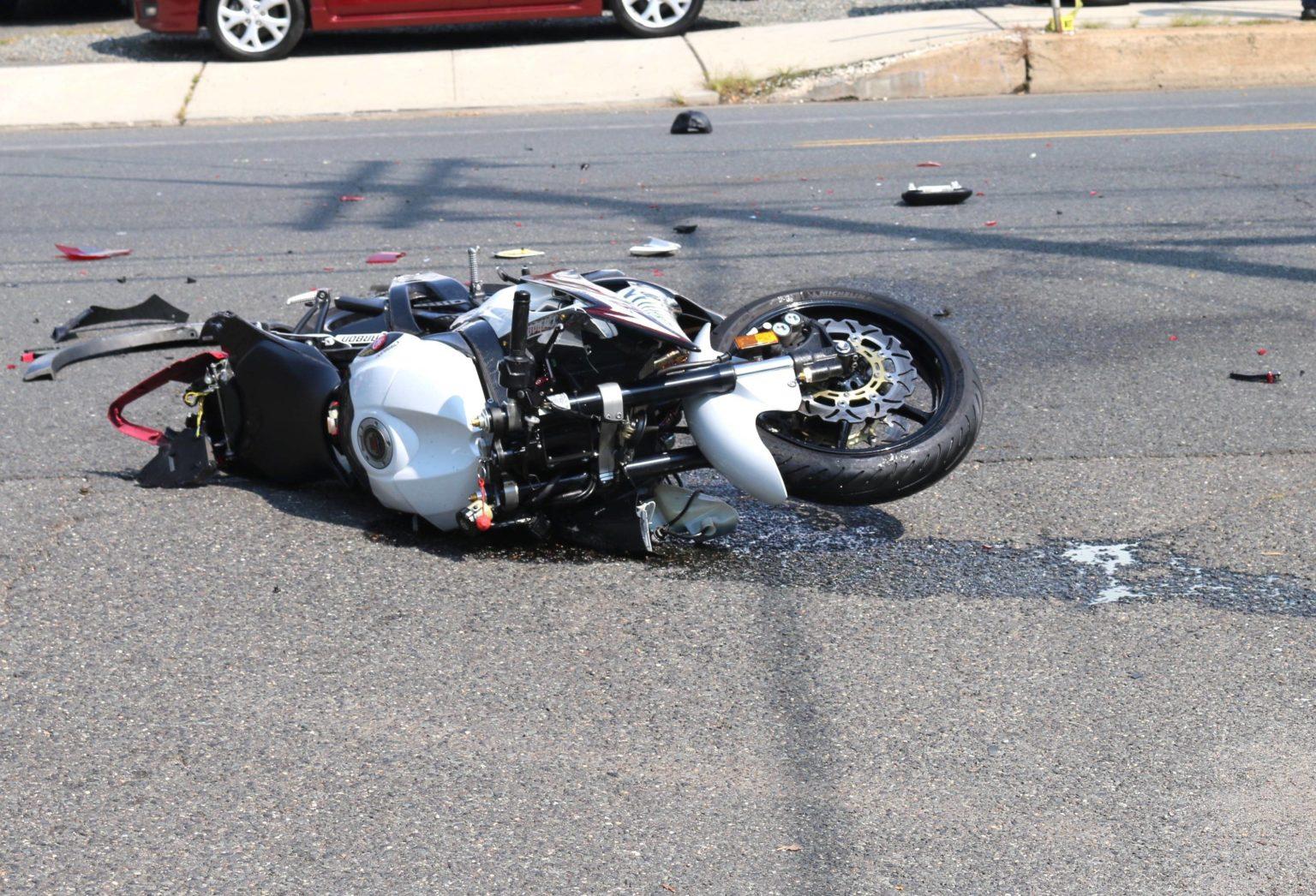 В Володарском районе Брянска разбился мотоциклист