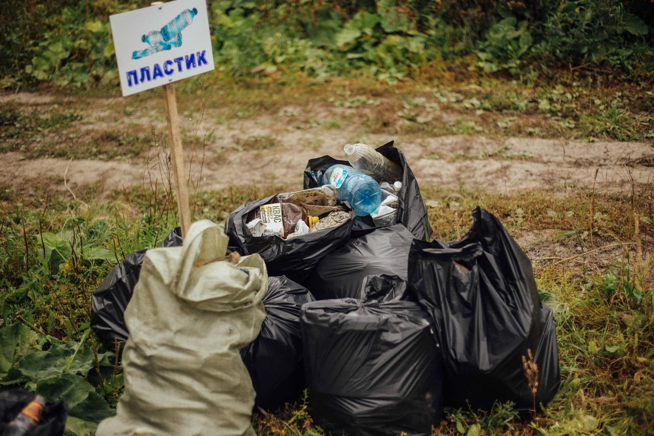 В Жуковском районе перешли на подворовой сбор мусора