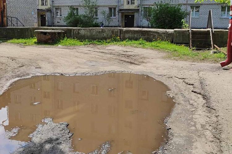 Брянцы просят отремонтировать дорогу по улице Дуки