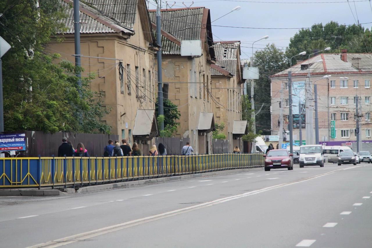 В Советском районе продолжается ремонт проспекта Станке Димитрова
