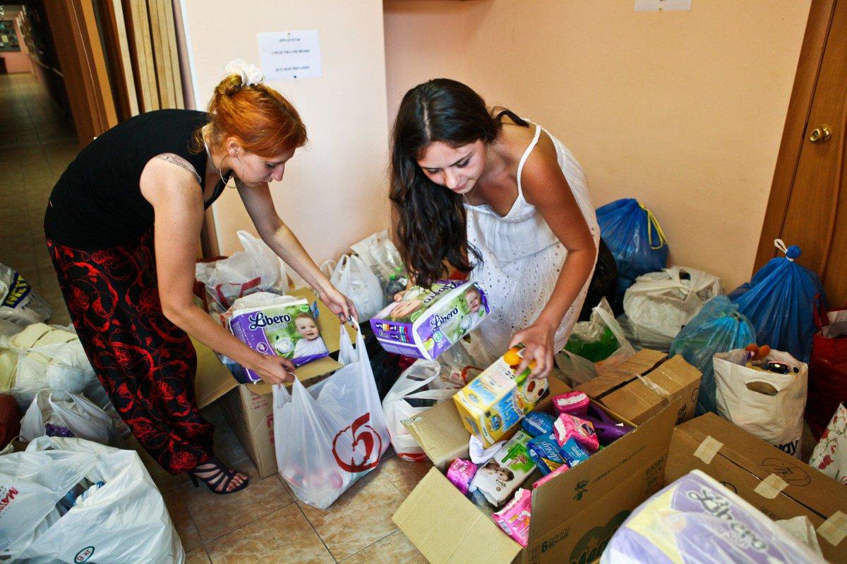 В центре Советского района Брянска открыли пункт помощи нуждающимся