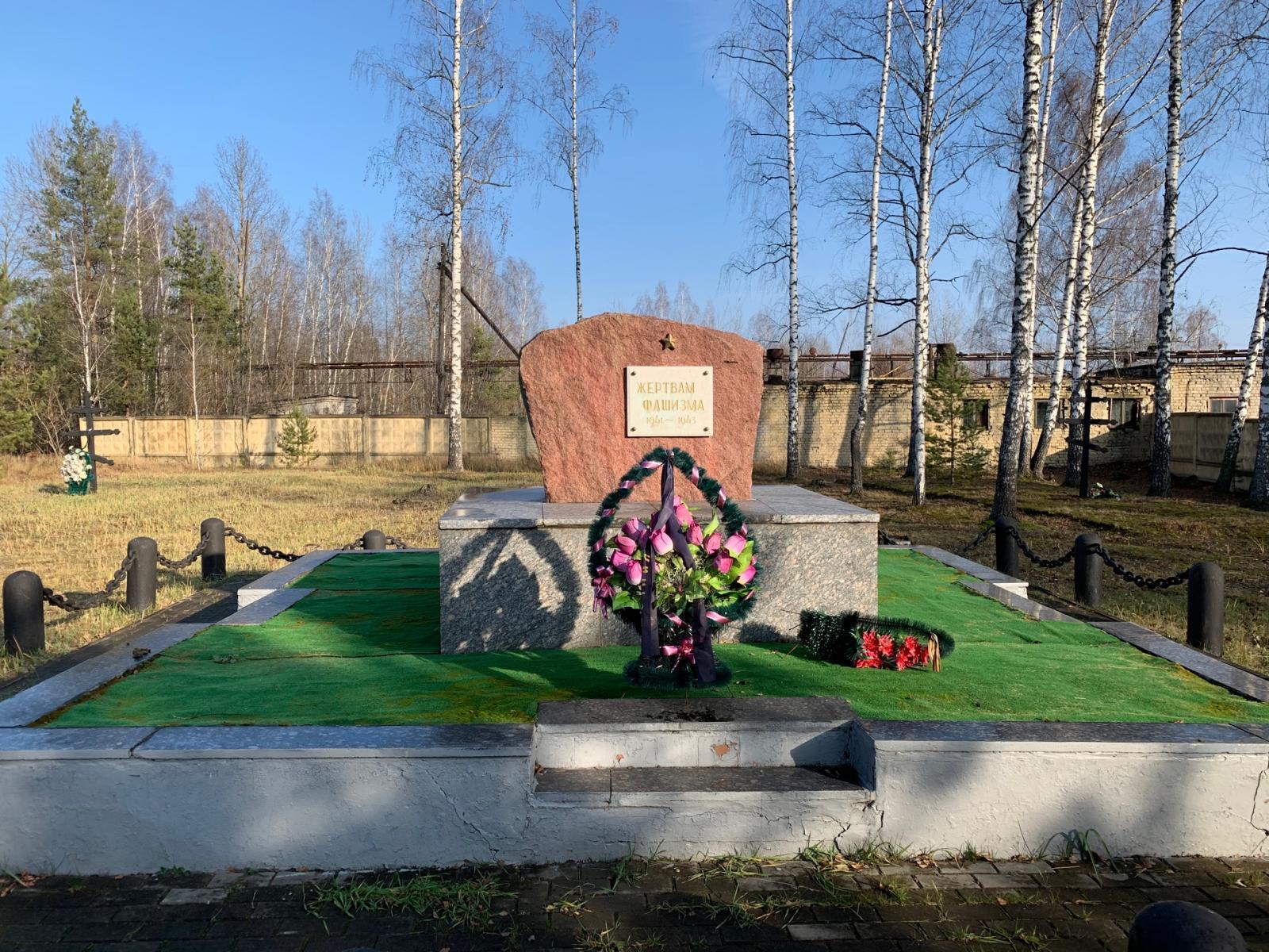 На канале Россия-24 рассказали об освобождении концлагеря «Дулаг-142» в Брянске