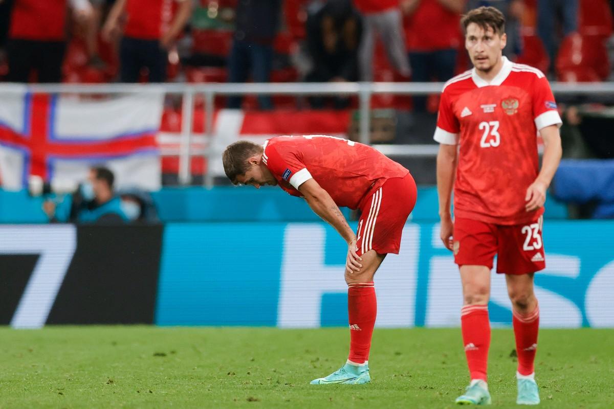 В РФС прокомментировали выступление сборной России на Евро-2021