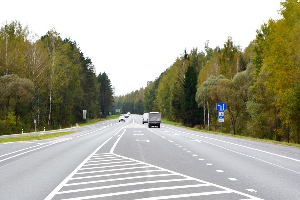 В Брянской области ремонтируют автодорогу «Брянск – Новозыбков» – Баклань – Котляково