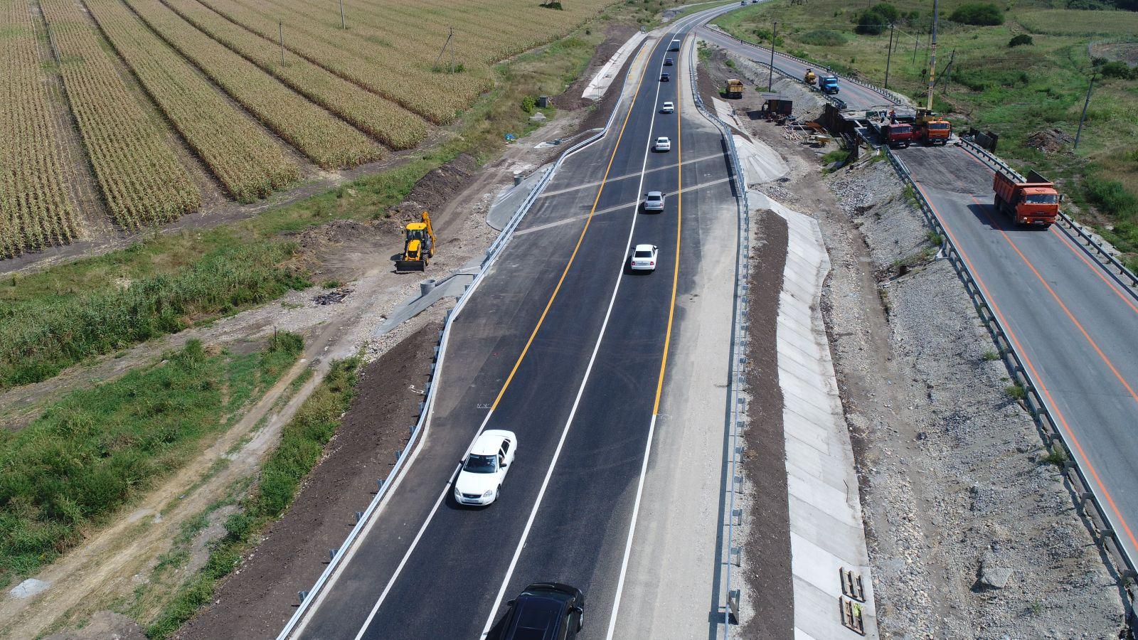 В Брянской области расширят федеральные трассы до четырех полос