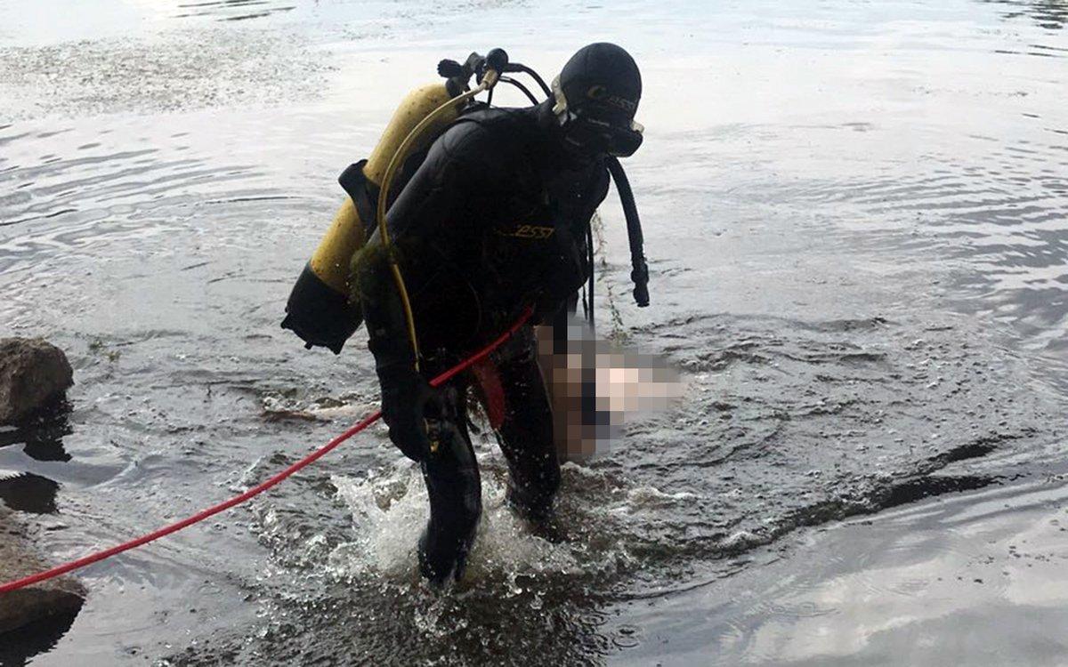 Со дна реки Десны в Брянске водолазы подняли труп 41-летнего мужчины