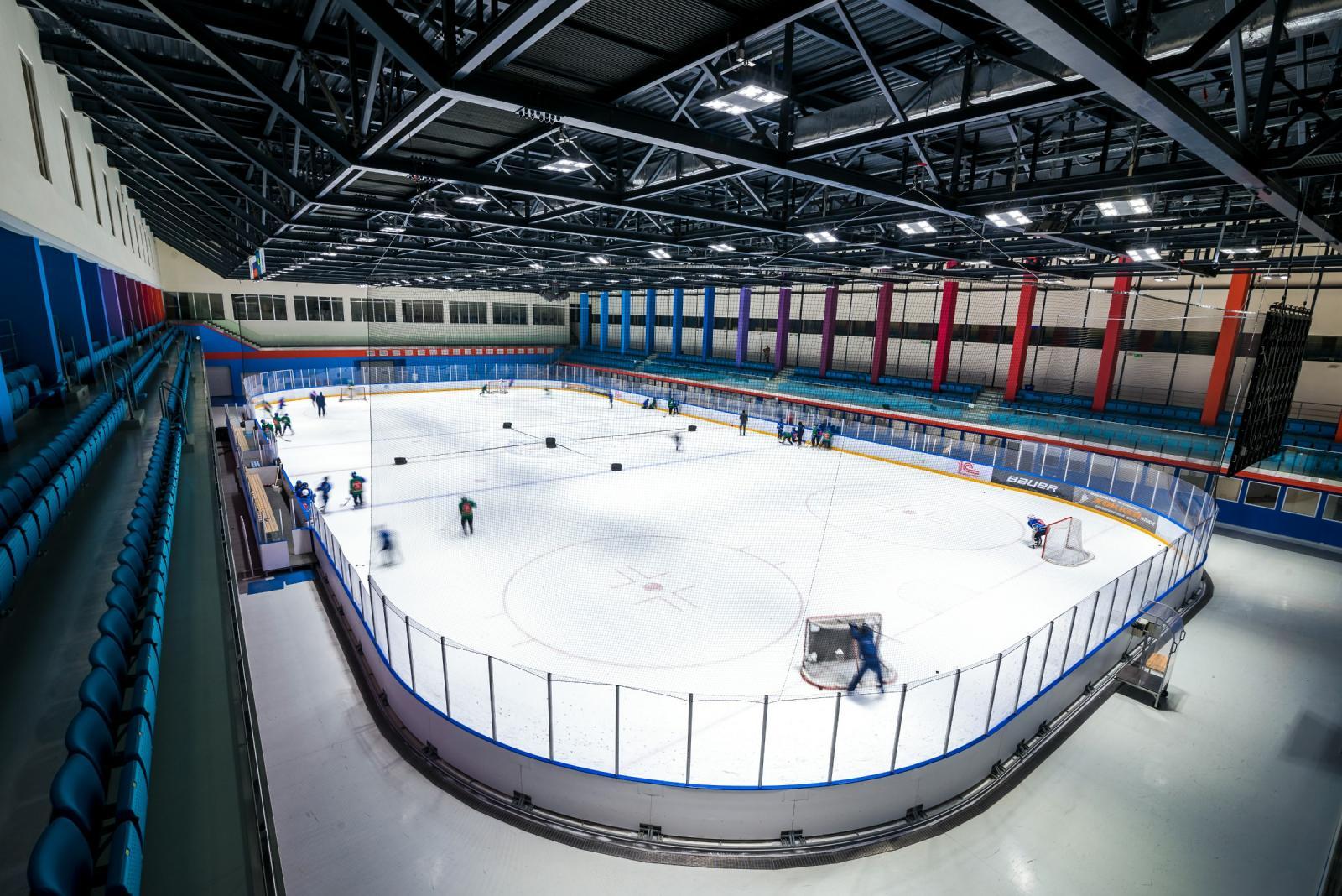 5 ледовых дворцов достроят в Брянской области в этом году