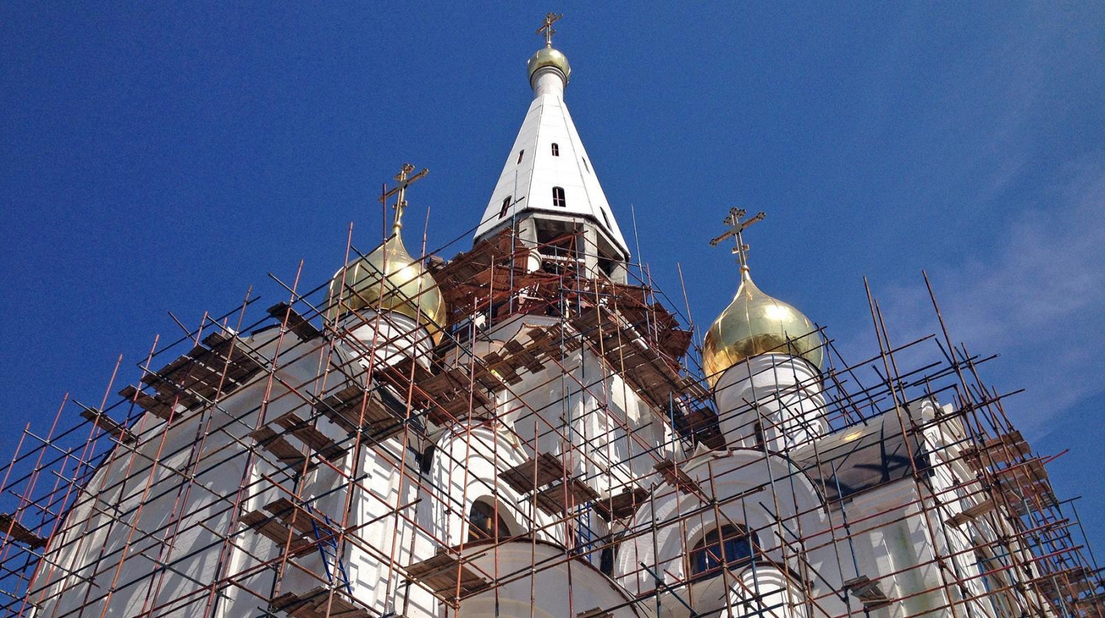 В Брянской области возводят храм во имя святителя Алексия