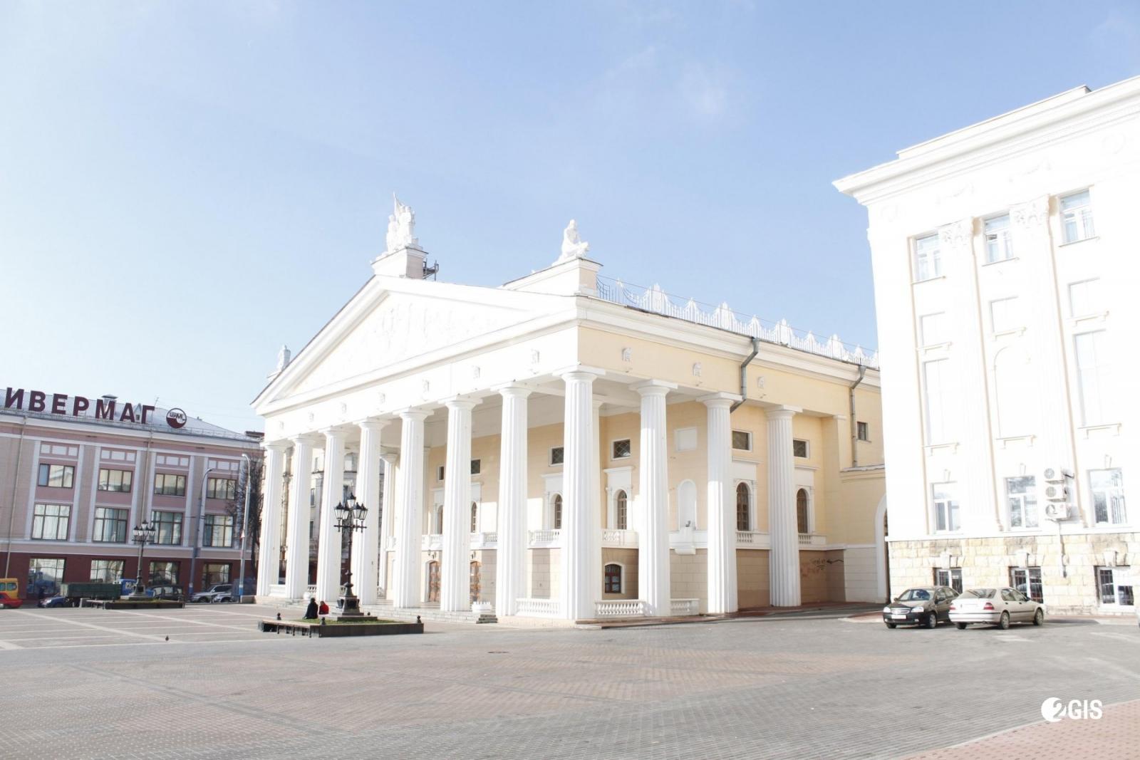В Брянске реконструируют здание областного театра драмы им. А.К. Толстого