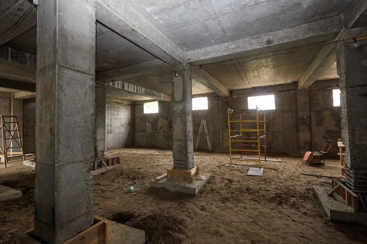 В Брянске возвели первый этаж нового корпуса школы искусств №3 имени Свиридова