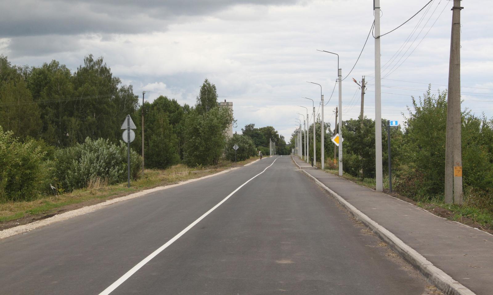 Завершается ремонт автомобильной дороги «Брянск-Теменичи»
