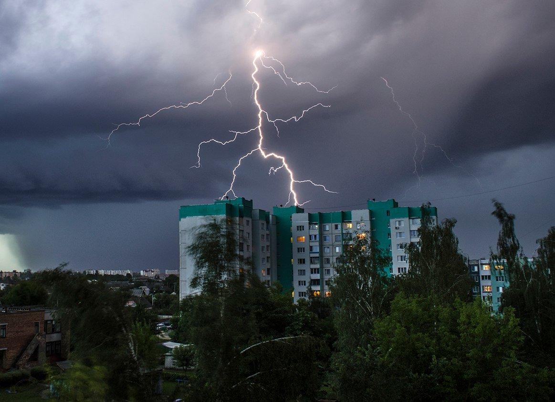 На Брянщине 29 июля ожидаются грозы и град при 32 градусах жары