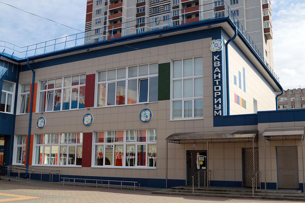 Технопарк «Кванториум» в Володарском районе посетил Александр Богомаз