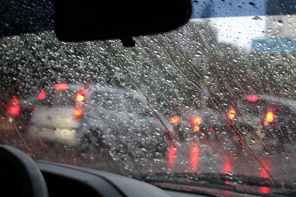 Брянских водителей призвали к внимательности из-за ливня 19 сентября