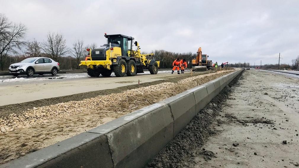 В Брянске ударными темпами строят магистраль «Брянск-1 - Брянск-2»