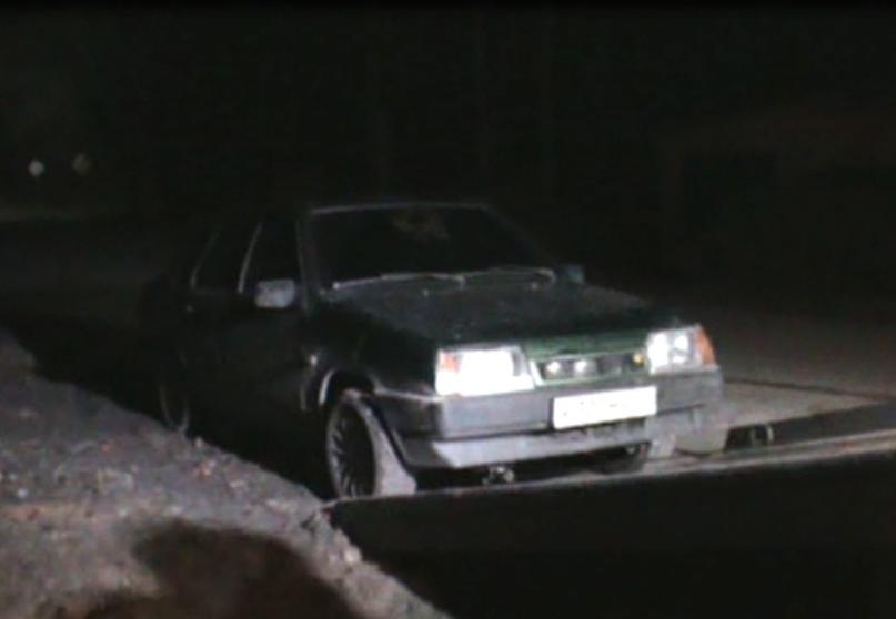 В поселке Клетня Брянской области поймали пьяного 19-летнего водителя легковушки