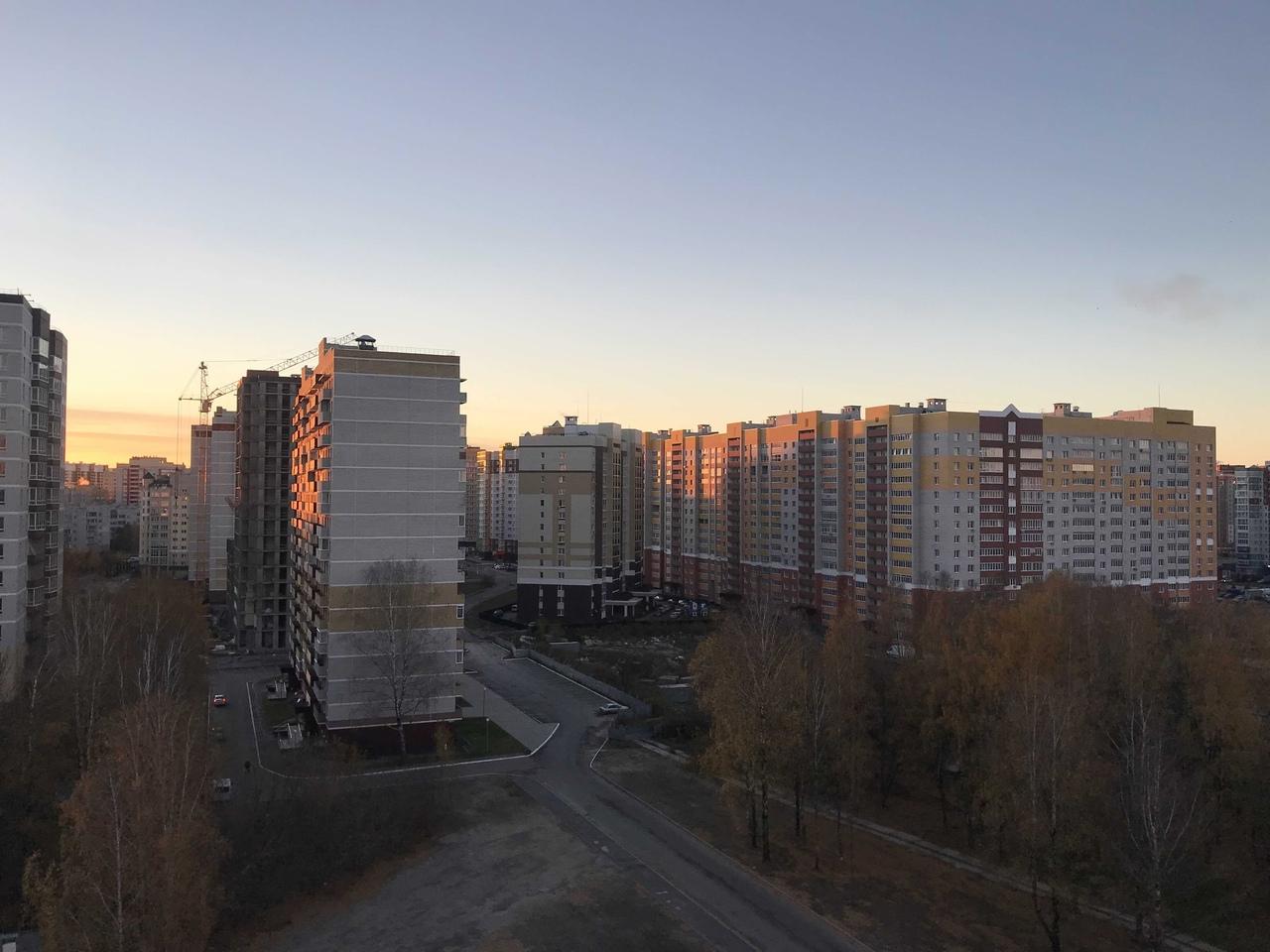 В Брянской области 26 октября ожидается -6 градусов и сильный ветер