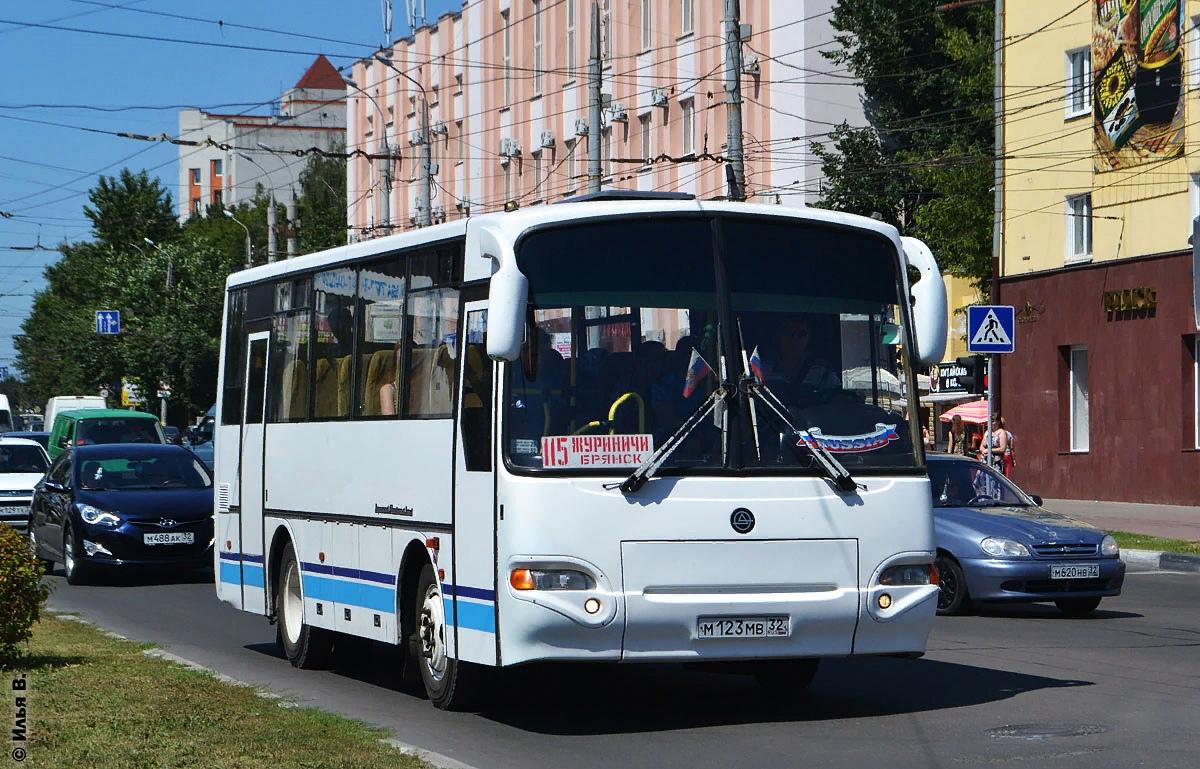 Удлиненный автобусный маршрут №115 запустят в Брянске с 26 октября