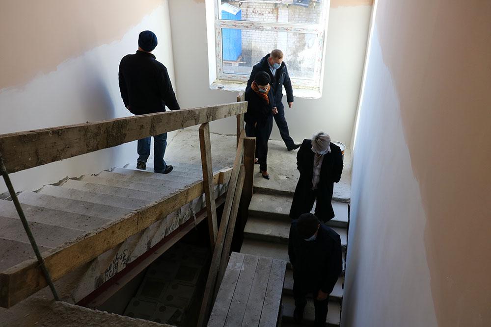 В Брянске строящийся корпус детской школы искусств №3 начали отапливать