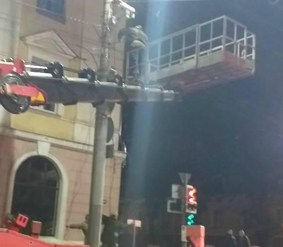 В Брянске на проспекте Ленина установили новую камеру