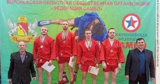 Брянские самбисты завоевали 12 медалей на первенстве ЦФО