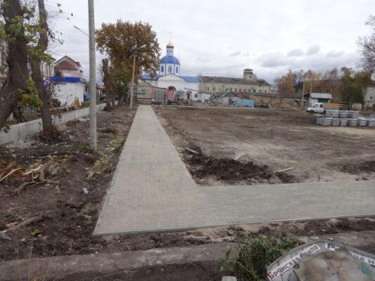 В Почепе благоустроят сквер «Школьный» с музеем под открытым небом