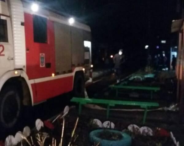 В Брянске на переулке Почтовом загорелась квартира