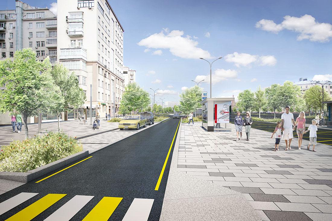 На улице Димитрова в Брянске обустроят пешеходную зону