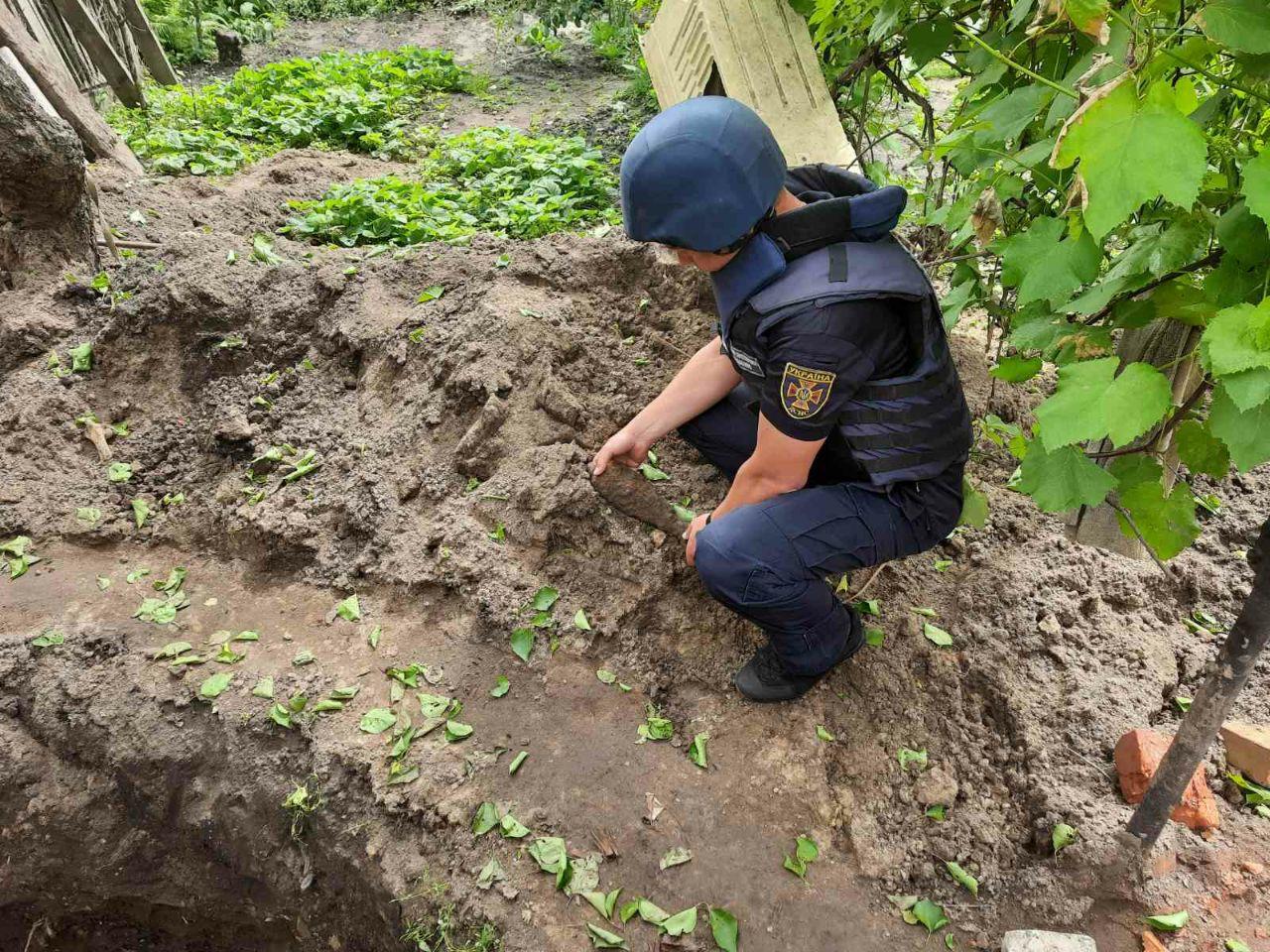 В Дубровском районе в поле обезвредили 50-килограммовую авиабомбу