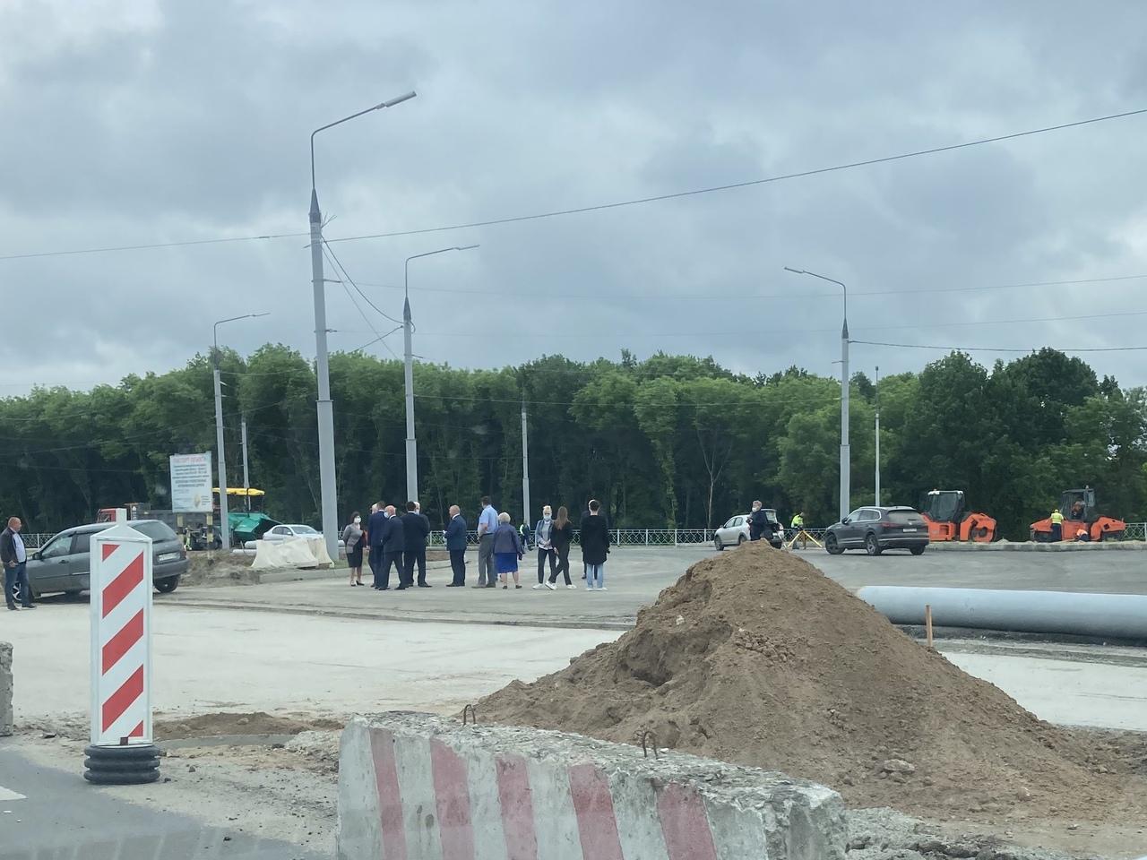 В Брянске из-за строительства кольца на Московском проспекте с 16 июня закроют три полосы