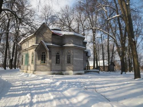В селе Луговец Мглинского района восстановили церковь Николая Чудотворца