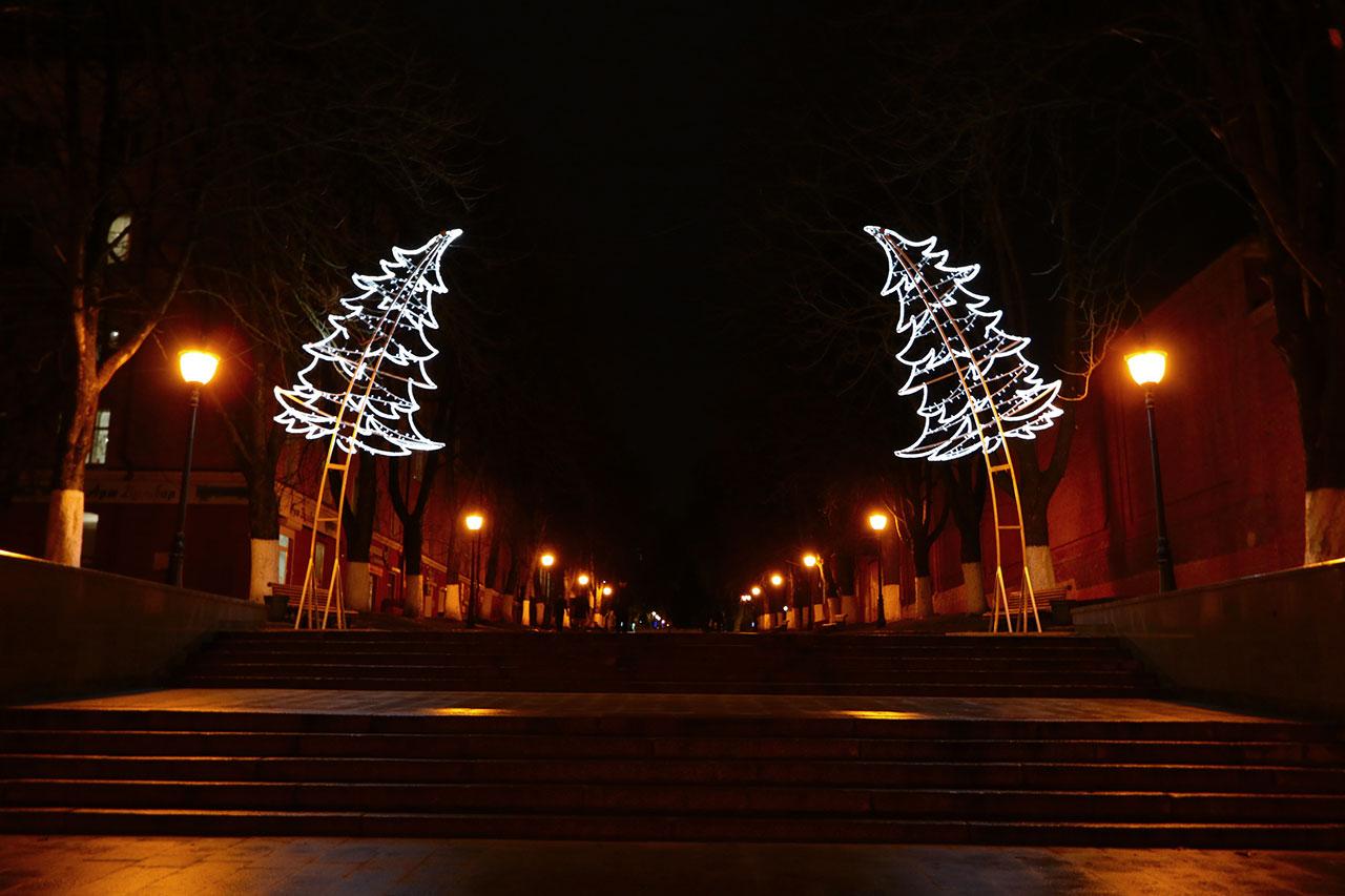 Жителей Брянска пригласили на экскурсию по новогоднему городу