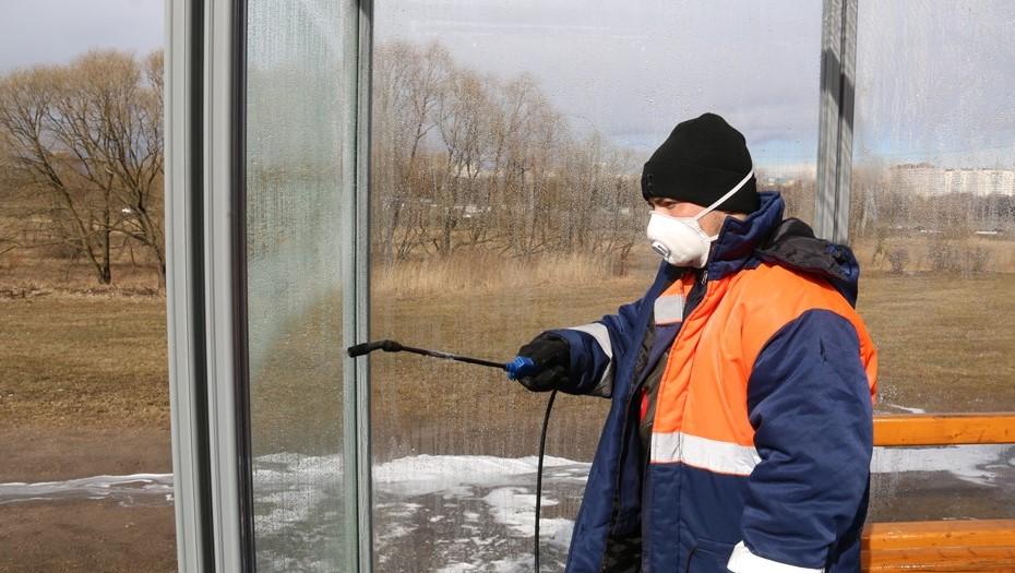 В Брянске продезинфицируют жилые дома и общественные места