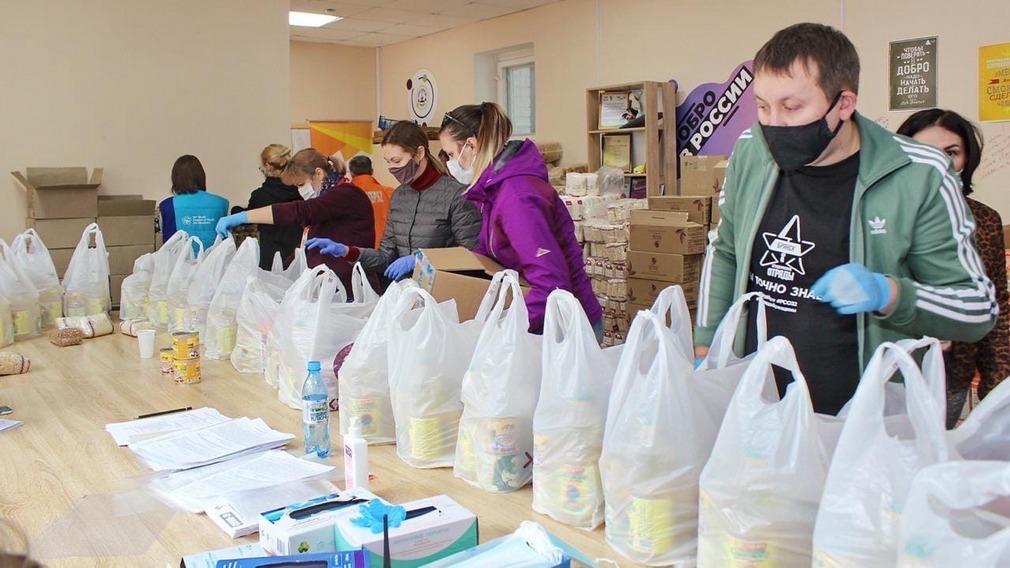 В волонтерскую работу активно включились брянские студенты