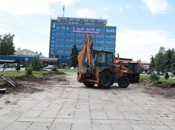 В Брянске появится зеленая зона в сквере «Литий»