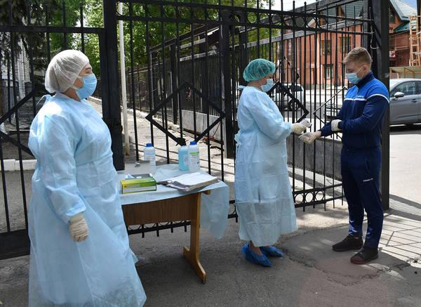В Брянской области тестируют на коронавирус призывников