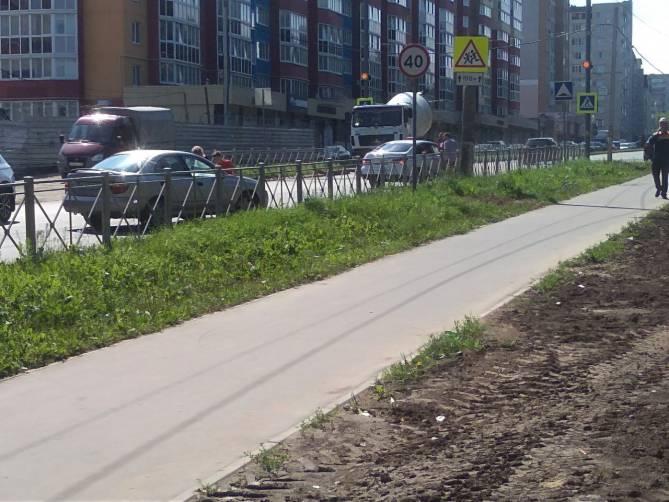 На улице Севской в Брянске установили светодиодные светильники