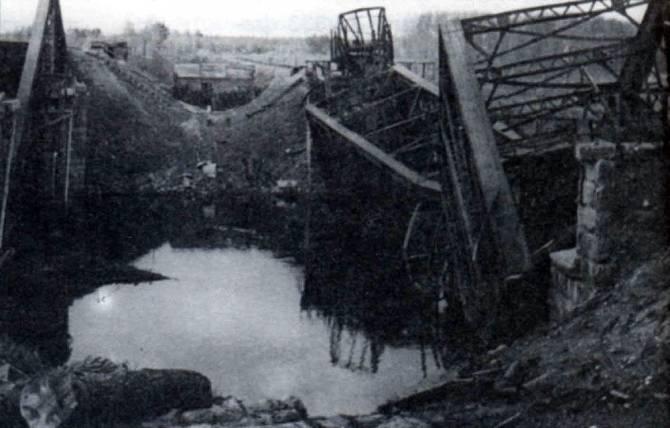 77 лет назад партизаны взорвали Голубой мост в Брянске