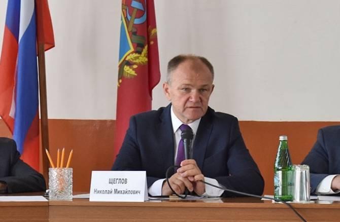 Николай Щеглов стал самым богатым заместителем брянского губернатора