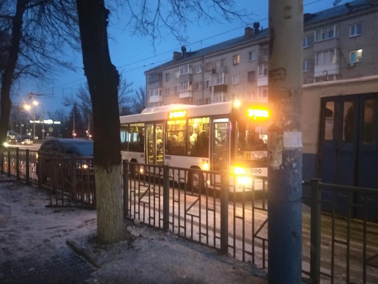 Автобусы МАЗ начали ездить по Брянску