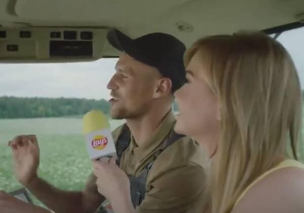 Звездой рекламы чипсов Lay's стал брянский картофель