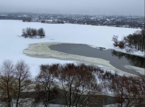 Мутная вода в Десне возмутила брянцев