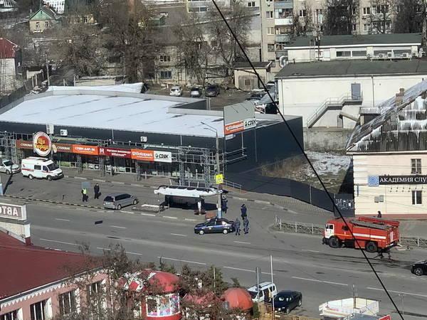 В Брянске оцепили автовокзал
